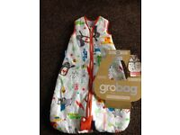 Travel Grobag 0-6 months 2.5 tog