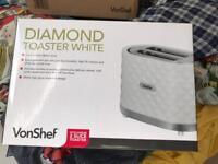 VonShef toaster BRAND NEW !!!