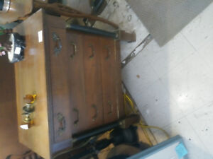 antique federal style child size dresser