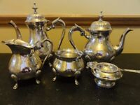 Silver plated Tea Set 6 piece