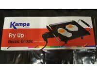 Brand New Kampa Electric Fry Up for Caravan, Motorhome, Camping or Home use.