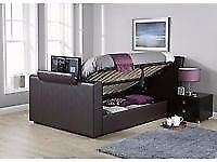 THIS WEEK HALF PRICE TV BED WITH GAS LIFT STORAGE BRAND NEW BLACK
