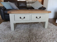 Dorchester Oak Painted Coffee Table