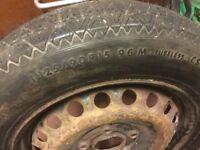 BMW Z3 spare wheel