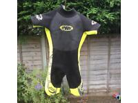 Child's shorty wetsuit aged 8 to 9