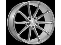 "19"" Veeman FS 18 Alloy wheels &Tyres LEON, A4 A3 MK2 MK3 VW Passat, Jetta, Golf MK5, MK6, MK7,Caddy"