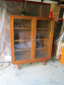 Glass Door Bookcase/Curio Case