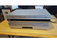 2 VCR AND VIDEO PLAYERS SONY AND SAMSUNG