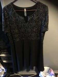 Black penningtons dress 1x