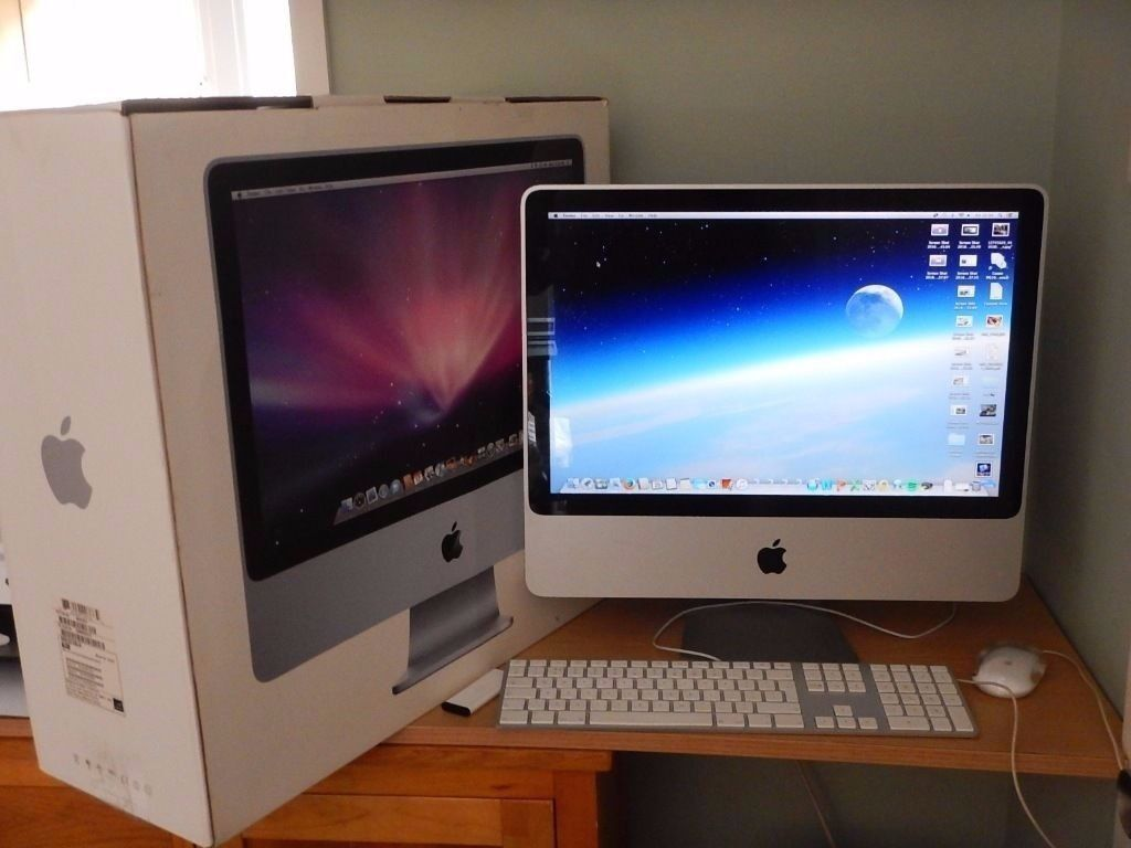 """20"""" Apple iMac Desktop 2.66ghz Core 4gb Ram 500gb Logic Pro Reason Cubase Ableton FL Studio Massivein Enfield, LondonGumtree - Call Milo 07834551888 20"""" Apple iMac Core 2.66Ghz Processor GREAT CONDITION RUNNING NEW OSX SIERRA Apple iMac Desktop 2.66Ghz, 4gb Ram, 500GB HDD CHECKMEND and POLICE CHECK WELCOMED Apple Mac as described with pre loaded multimedia software. This..."""
