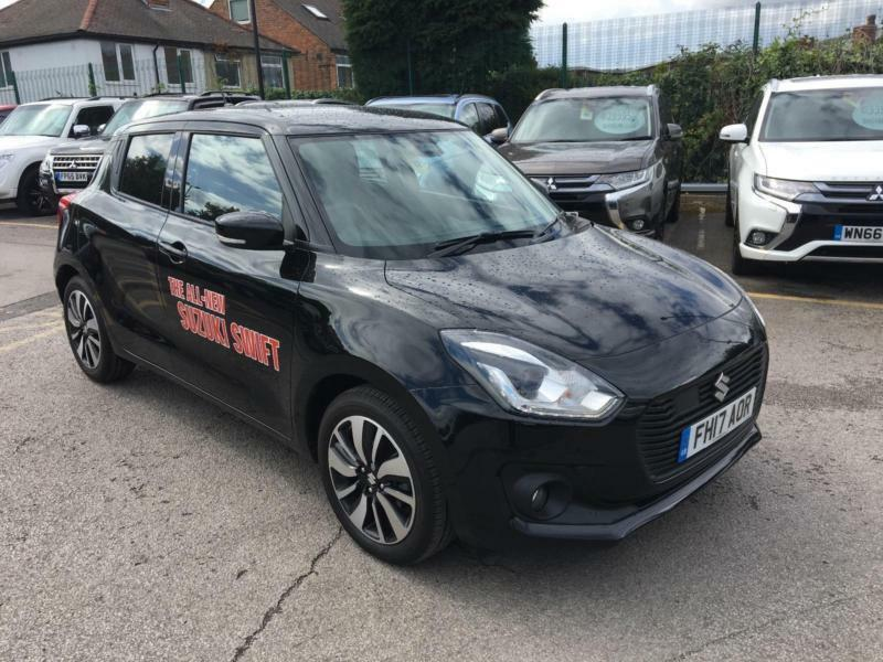 2017 Suzuki Swift 1.0 Boosterjet SZ5 5dr Auto Petrol black Automatic