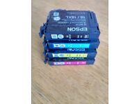 EPSON XP-205-207 ALL IN ONE PRINTER EMPTY CARTRIDGES (4 GENUINE + 10 GENERIC)
