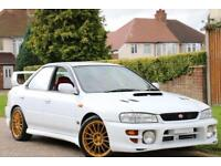 SUBARU IMPREZA WRX STI FRESH IMPORT STUNNING RUST FREE CAR IN SUPERB CONDITION,