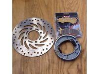 Honda PCX 125 / Vision Front Brake DISC, PAD & SHOE Kit NSC110 NSC 110 PCX150
