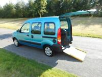 2008 Renault Kangoo 1.2. WHEELCHAIR DISABLED ADAPTED ACCESSIBLE VEHICLE WAV