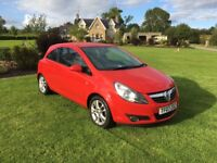 2007 VAUXHALL CORSA 1.2 SXI RED 3DR PETROL **LOVELY CAR** LOW MILEAGE **WELL MAINTAINED*
