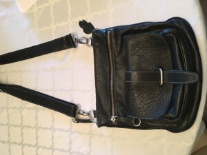Roots Leather cross body purse for sale