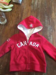 Brand New Canada Olympic Hooded Sweatshirt