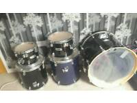 Mapex v series kit 3 toms and bass drum
