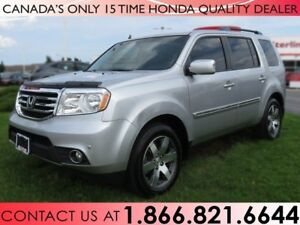 2015 Honda Pilot TOURING | NO ACCIDENTS | 1 OWNER | NAVIGATION