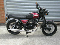 Bullit Motorcycles Hunt S EFi 125cc Brand new