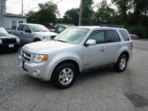 2008 Ford Escape SUV, 6C, 4x4. New MVI - Well maintained