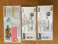 Carfest South two adult tickets for Saturday