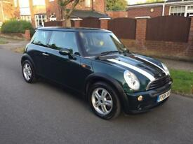 For sale Mini One 1.6, 06, Racing Car Green