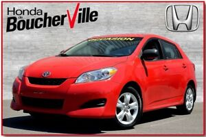 2010 Toyota Matrix Base  excellente condition