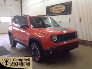 2015 Jeep Renegade Trailhawk Remote Start, Bluetooth, Back Up Ca