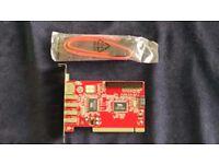 PCI SATA + USB + IDE Combo card