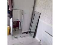 **Bevelled Wall MIRROR** Like New Cost £250