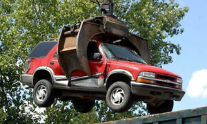 WE BUY SCRAP VEHICLES SEND US AN OFFER - BARRIE 416-666-8038