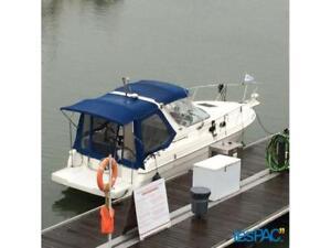 Bateau de plaisance , cruiseur 30 pieds aft cabine avec remorque