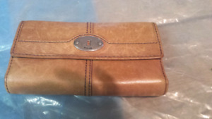 Vintage Leather Fossil wallet