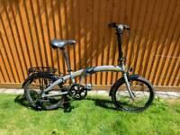 Raleigh evo 2 folding bike (warranty)