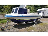 Fishing Boat Wilson Flyer 17ft