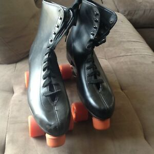 Size 12 retro vintage roller skates quads new old stock man