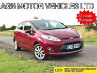 2009 FORD FIESTA 1.2 ZETEC 1.25 PETROL - GREAT SPECIFICATION RARE COLOUR COMBO