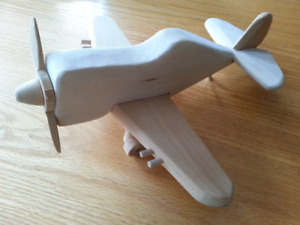 Wood plane: toy or decorative