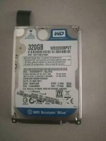 """2.5"""" 320GB HDD"""