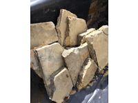 FREE slab bits - good for allotment or crazy paving etc