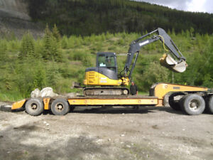 Excavator-Trailer-Truck (package deal)