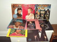 9 old vinyllong playing record's