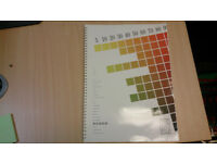 The Tint File - CMYK 4colour matching book for anyone involved with colour print reproduction