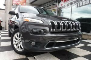 2016 Jeep Cherokee Limited | 4x4 | Satellite Radio | Sunroof