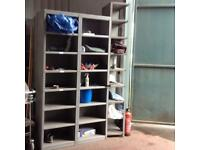 Metal Storage Shelves (2 Bays)