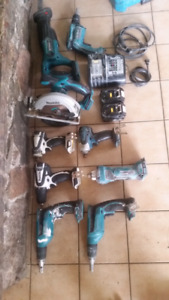 Makita cordless tools  make an offer