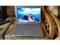 dell inspiron 1520 windows 7 80g hard drive 2.50g memory webcam wifi dvd drive charger