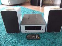 Onkyo CR-255 Shelf System + Speakers & Remote Control